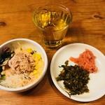 博多ほたる - 辛子高菜・明太子、サラダ&ドリンクバー付き