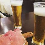 まちのイタリアン ワイン酒場 con le mani - ビール