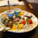ピッツェリア ジターリア ダ フィリッポ - 前菜盛り合わせ2人前