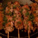 9003698 - 鶏せせり肉の明太串打ち焼き(2時間飲み放題付9品3600円コース)