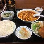 中国四川料理 川香苑 - 麻婆豆腐うまい