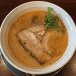 らぁ麺 せさみ - らぁ麺せさみ チャーシュー担担麺 900円