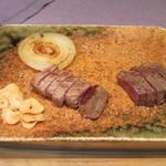鉄板焼 りんどう - 熊本県産 黒毛和牛「和王」ステーキ