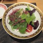 鉄板焼 りんどう - サラダ