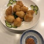 神戸元町別館牡丹園 - 小海老の天ぷら