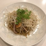 神戸元町別館牡丹園 - 生姜、ねぎ、焼豚、小海老の和えそば