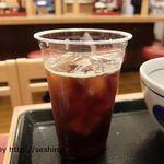 なか卯 - アイスコーヒー
