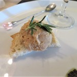 レストラン タガミ - 前菜②鶏肉リエット