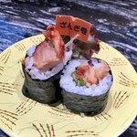 回転寿司 根室花まる - ざんぎ巻き