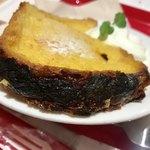 マーメイドカフェ - セット¥720(税込)のフレンチトースト…パンの耳