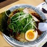 丸源ラーメン - 醤油とんこつ 黒