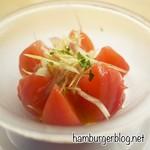 E・A・T - 丸ごとトマトとみょうがのピクルス