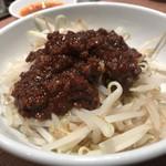 渋谷餃子 - 肉みそもやし