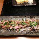 恵比寿でですけ - 薩摩地鶏のポン酢
