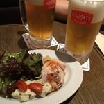 SCHMATZ - お通し1人300円とビール650円