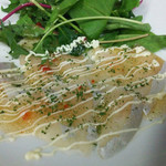 肉バル×モダン個室 バンビーナ - 厳選白身魚のカルパッチョ