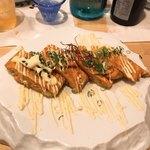 酒菜きっちん 雄食 - チャン玉(チャンジャ入り玉子焼き)