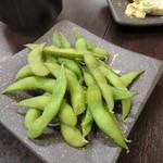 もつ焼串 山形肉問屋センター - 枝豆
