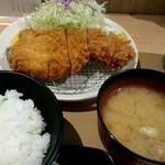 とんかつ目黒こがね - 林SPF『ロースカツ定食』ランチ¥1200-