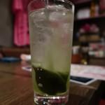 ももまる - 緑茶ハイ
