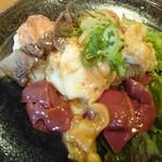 お肉屋さんの焼肉 まるやす - ホルモン定食1,000円
