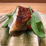日本料理 e. - ホロホロ鳥の胸肉の炭火焼