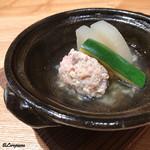 日本料理 e. - ホロホロ鳥つみれ団子の小鍋立