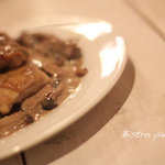 ビストロ やのや - 地鶏のグリル赤ワインマスタードソース