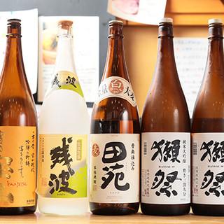 時期ごとに旬のドリンクを!焼酎、日本酒、カクテルなど多彩◎