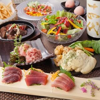 和牛肉や旬魚、チーズタッカルビのご宴会コースが2500円~