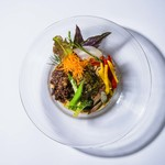 タカキビの冷やし坦々麺