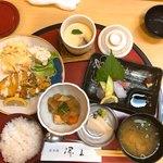 香季稜 深山 - 昼定食(860円税込み)