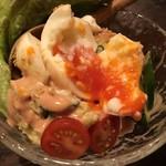オールナイト 焼鳥 戸高 - 金のポテトサラダ 580円