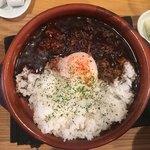 神田 日本酒バル 酒趣 - ブラックカレー