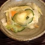 九州鍋家 KATETE - 漬物