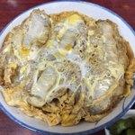 山之内 - 料理写真:農大半かつ丼(とん汁) 700円
