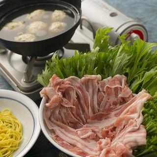 九州産国産豚とお野菜をたっぷりと!ボリューム満点◎豚はり鍋