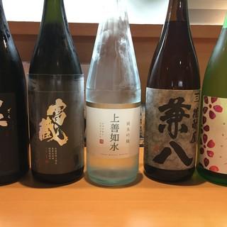 和食にそっと寄り添う厳選美酒を片手に!通好みの1杯も取り揃え
