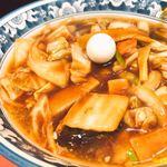 天鳳 - ♦︎天鳳麺+半チャーハン 1,100円(税込み)