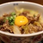 大石 - すき焼き丼☆