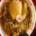 カドヤ食堂 - 魚介中華そば ネギ抜き
