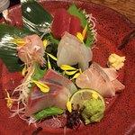 伍味酉 - お刺身5種盛り