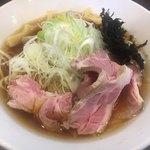 麺屋りゅう - 〇淡麗冷やし煮干しそば=@1,000円(税込)