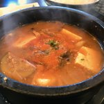 韓国厨房 尚州本店 - 海鮮豆腐チゲ