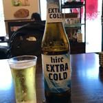 韓国厨房 尚州本店 - hite beer