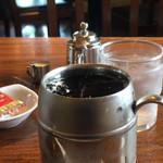 カフェヨシノ - ドリンク写真:避暑のアイスコーヒー