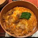 秋田比内や - 料理写真:シメの親子丼