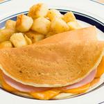 エッグスンパンドイッチ&ドリンク