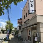 寿司竹寅 - 山電「西新町駅北、徒歩2分にあるお寿司屋さんです(2018.7.30)
