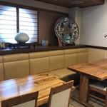寿司竹寅 - テーブル席(2018.7.30)